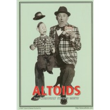 Altoids Promotional Postcard - Vent Theme
