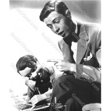 Jimmy Nelson and Danny O'Day in Early Photo - Danny Reads a Magazine