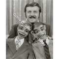 Paul Winchell with Jerry Mahoney and Knucklehead Smiff Photo