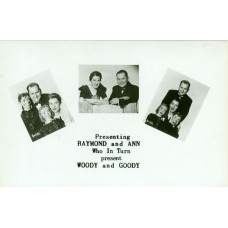 Raymond and Ann Souvenir Promotional Postcard