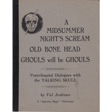 A Midsummer night's Scream dialogue book by Val Andrews