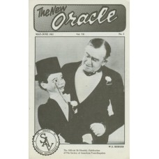 The New Oracle Magazine Vol. 7, #3 (May/June 1982) - W.S. Berger Cover