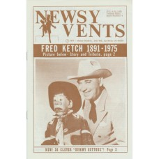 Newsy Vents Magazine - Vol. 31, #4 - Fred Ketch memorial cover