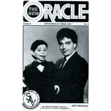 The New Oracle Magazine Vol. 10, #5 (Sept/Oct 1985) - Pete Michaels Cover
