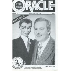 The New Oracle Magazine Vol. 11, #2 (March/April 1986) - Bob Isaacson Cover