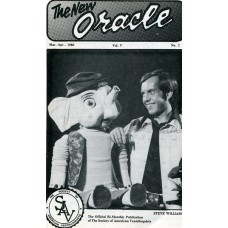 The New Oracle Magazine Vol. 5, #2 (March/April 1980) - Steve Williams Cover