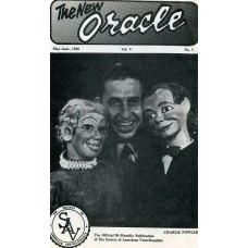 The New Oracle Magazine Vol. 5, #3 (May/June 1980) - Charlie Fowler Cover