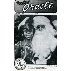The New Oracle Magazine Vol. 5, #6 (November/December 1980) - Santa Steve Kay Cover