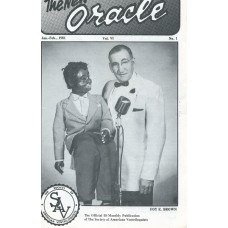 The New Oracle Magazine Vol. 6, #1 (January/February 1981) - Foy Brown Cover