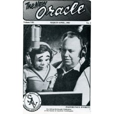 The New Oracle Magazine Vol. 8, #2 (March/April 1983) - Paul Everett Cover