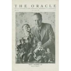 The Oracle Magazine Vol. 12, #3 (May/June 1953) - Charles Ising cover