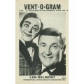 Vent-O-Gram Magazine Vol. 6, #5 (Nov./Dec. 1968) - Len Belmont cover