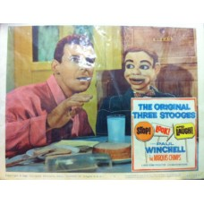 Paul Winchell / Jerry Mahoney Vintage Movie Lobby Card